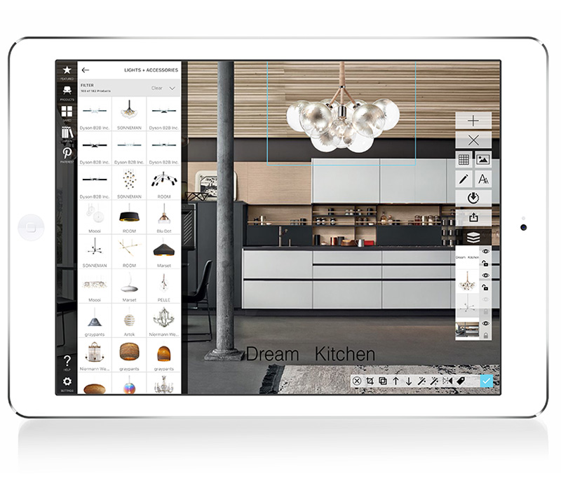 Morpholio Board an app for Mood, Cork, Memo and White Boards