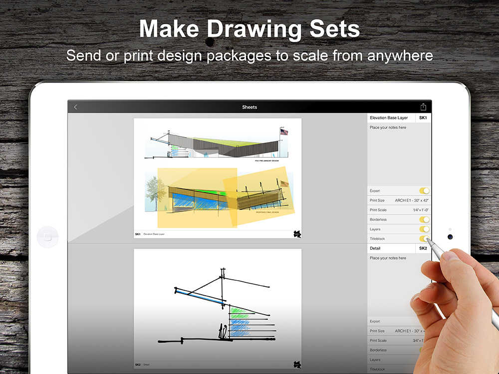 Morpholio Trace Drawing Sets